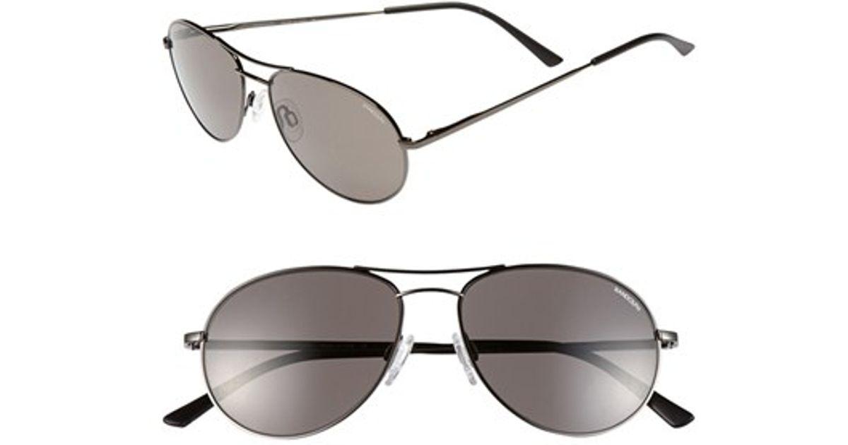 e6322ce8c099 Lyst - Randolph Engineering 'crew Chief Ii' 54mm Sunglasses - Shiny Black/  Grey in Black for Men