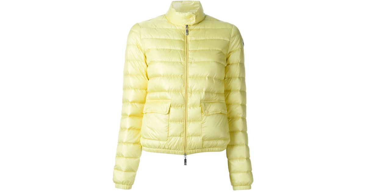 236d11b3d83b Lyst - Moncler  lans  Puffer Jacket in Yellow