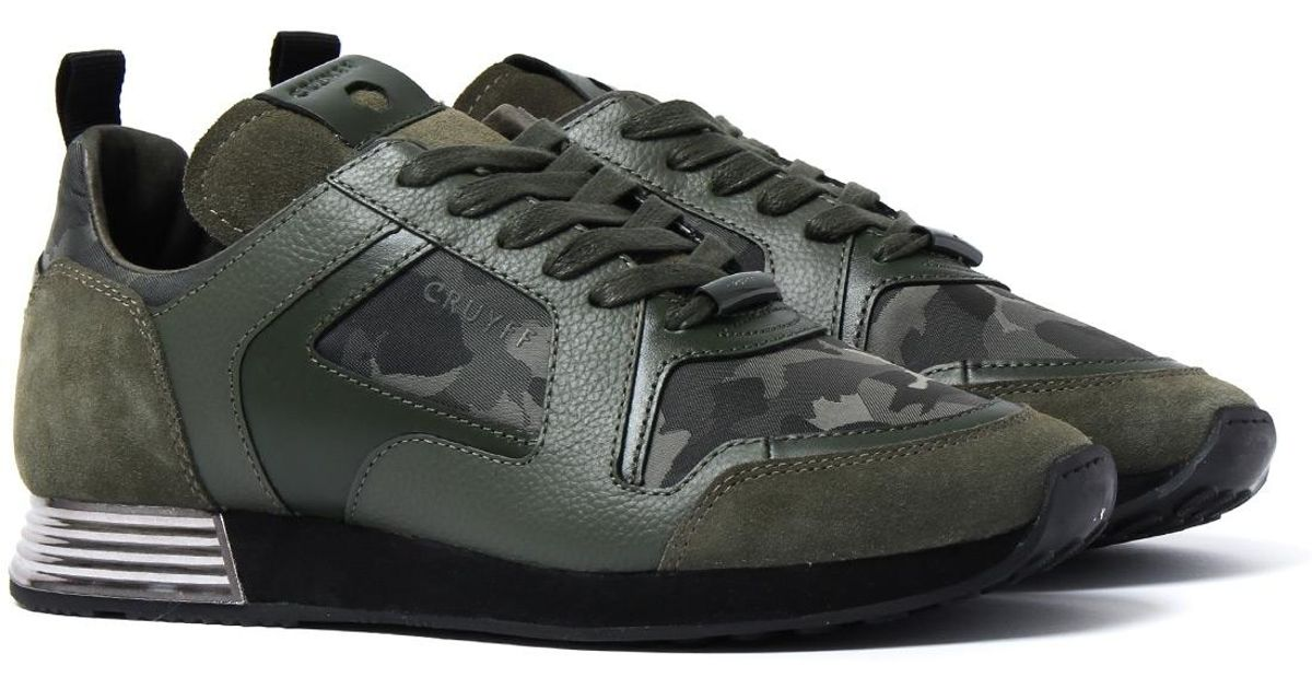 084c89a2212 Cruyff Classics Bark Green Lusso Trainers in Green for Men - Lyst