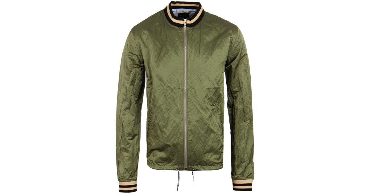 9a79337df Vivienne Westwood Souvenir Metallic Green Bomber Jacket for men