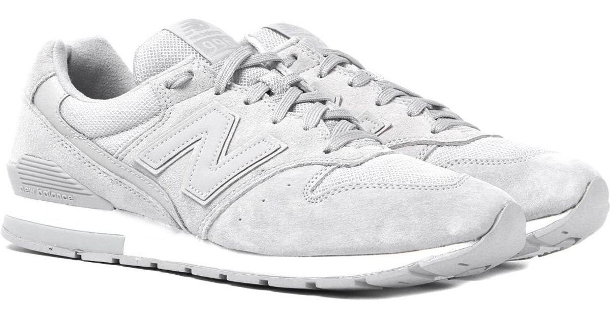 new balance grey trainers
