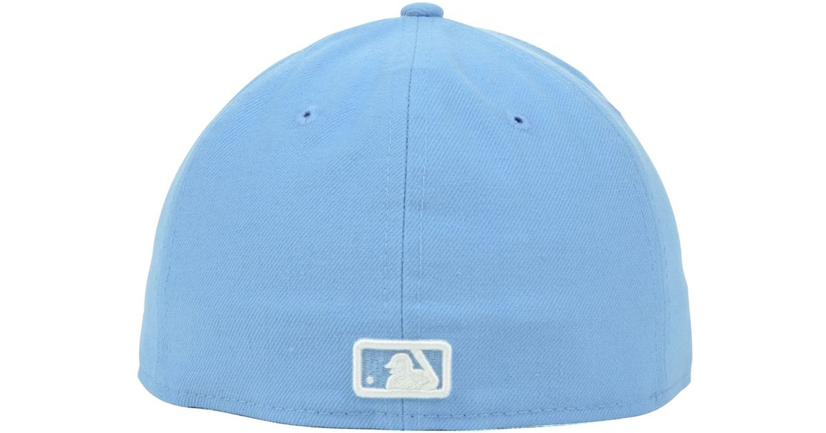 super popular 774a6 0bfb9 closeout ktz houston astros mlb c dub 59fifty cap in blue for men lyst  a250c eaf2e