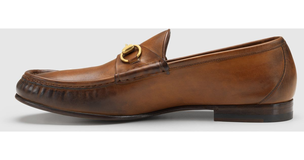 0f8494be6f0 Lyst - Gucci 1953 Horsebit Loafer In Leather in Brown for Men