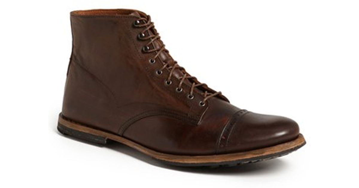 Lyst - Timberland Boot Company  wodehouse  Cap Toe Boot in Brown for Men c89d728e32e