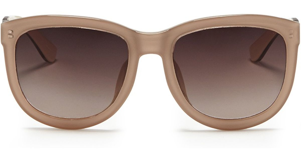 c7c1832039 The Row Oversize D-frame Colourblock Acetate Sunglasses in Brown - Lyst