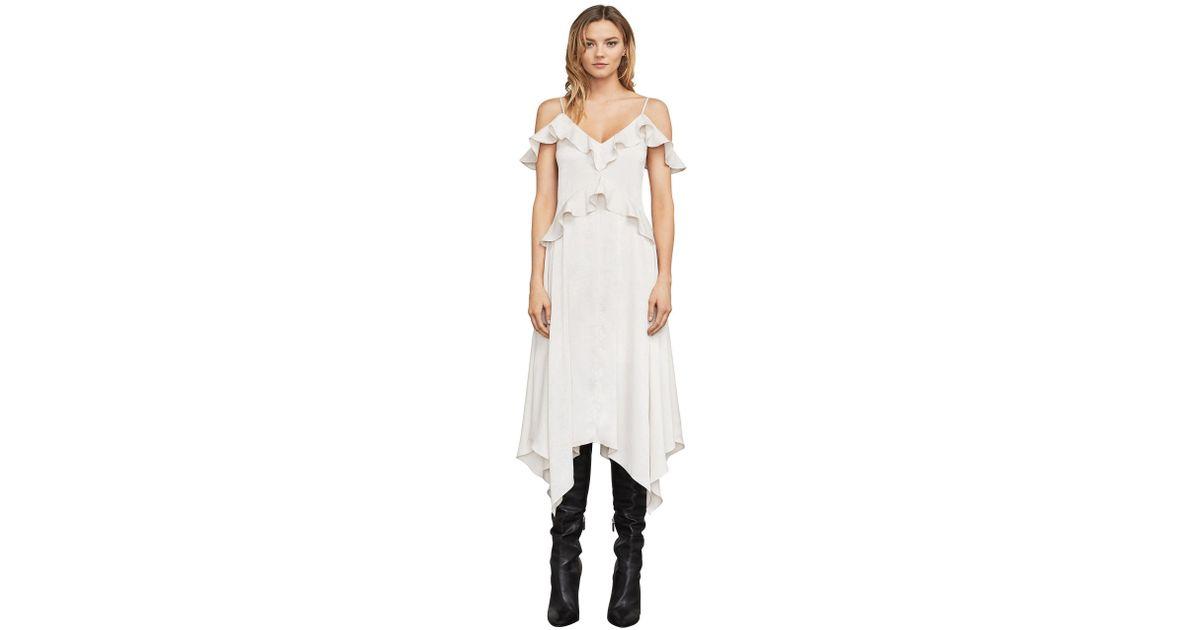 33e824d016a3c BCBGMAXAZRIA Lissa Asymmetrical Slip Dress - Save 70% - Lyst