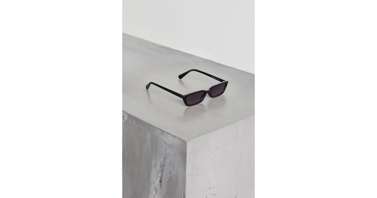63cbdbd07a4 Lyst - BCBGeneration Petite Peeper Sunglasses in Black
