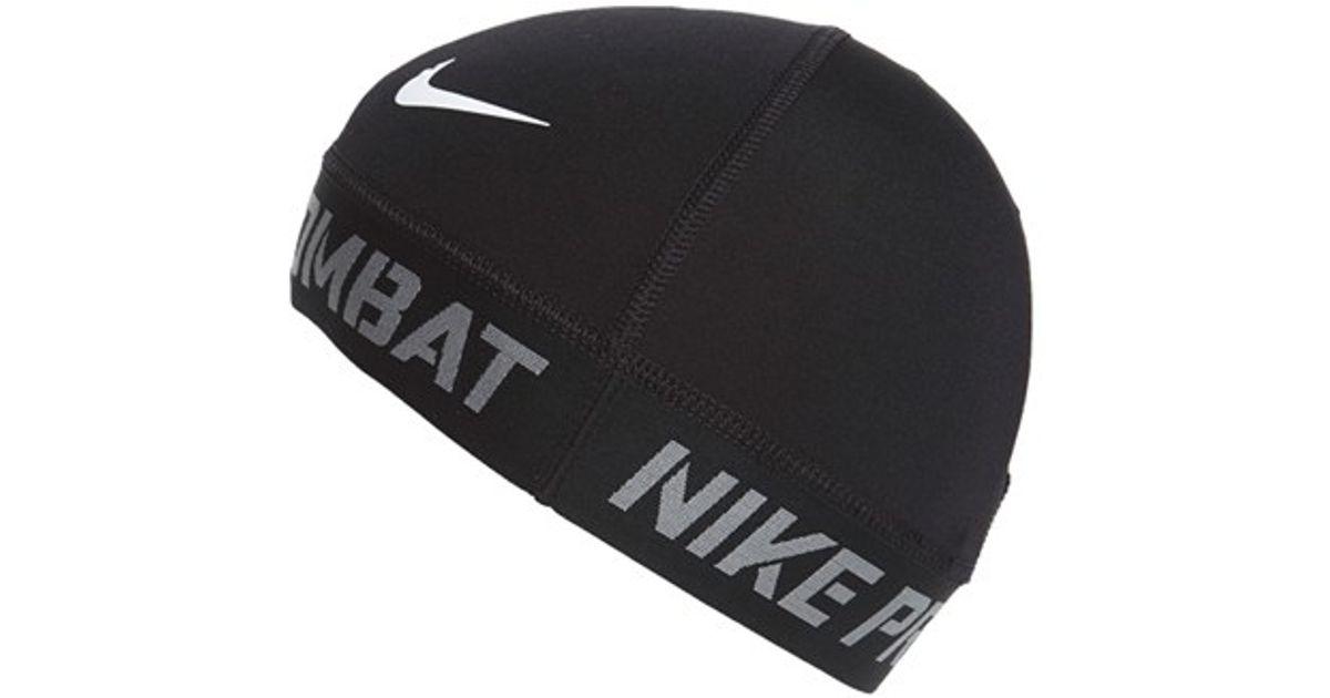 Lyst - Nike  pro Combat  Skull Cap in Black for Men 1451a4a4a78