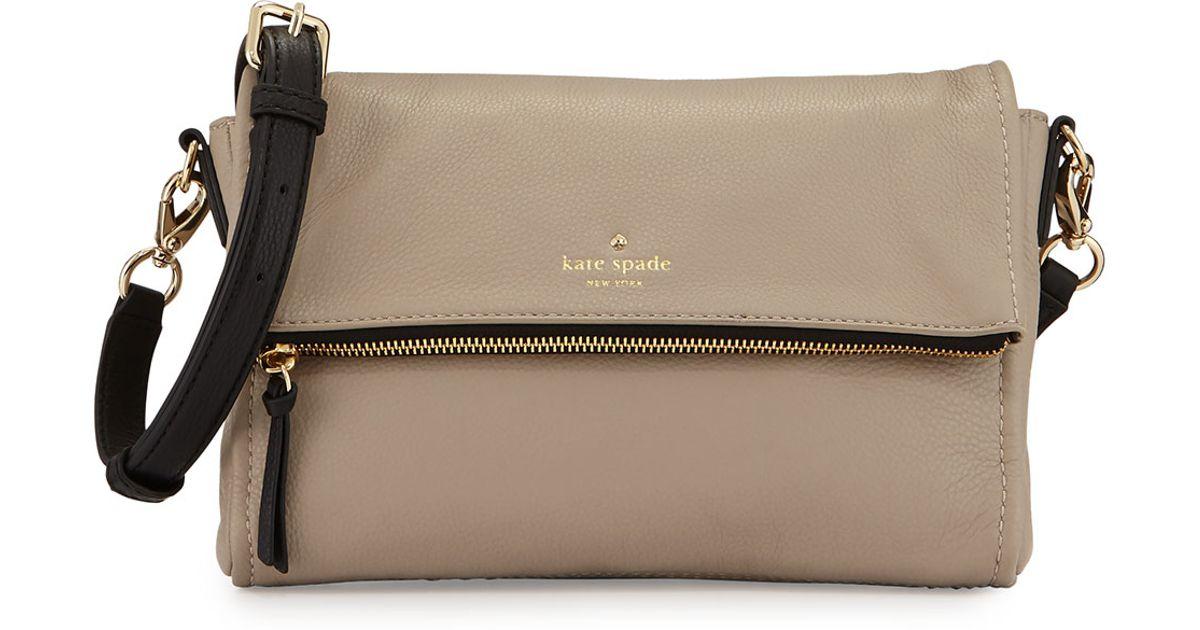 56134f76fc Lyst - Kate Spade Cobble Hill Marsala Crossbody Bag in Natural