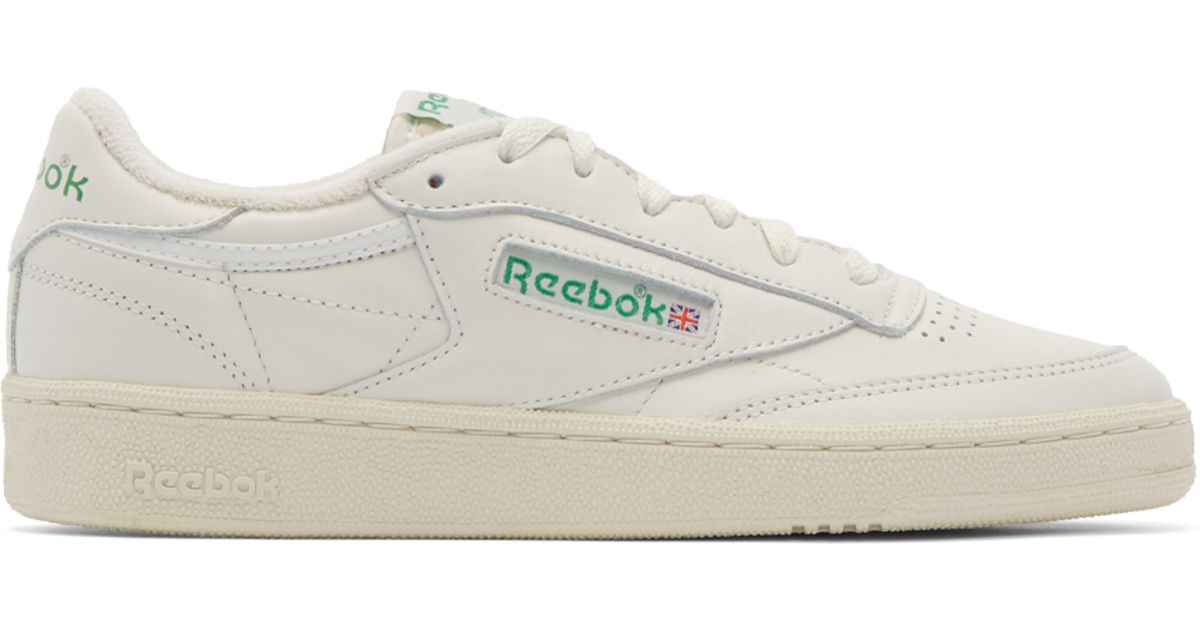 Lyst - Reebok White Club 85 Vintage Sneakers in White for Men e69ee52d7