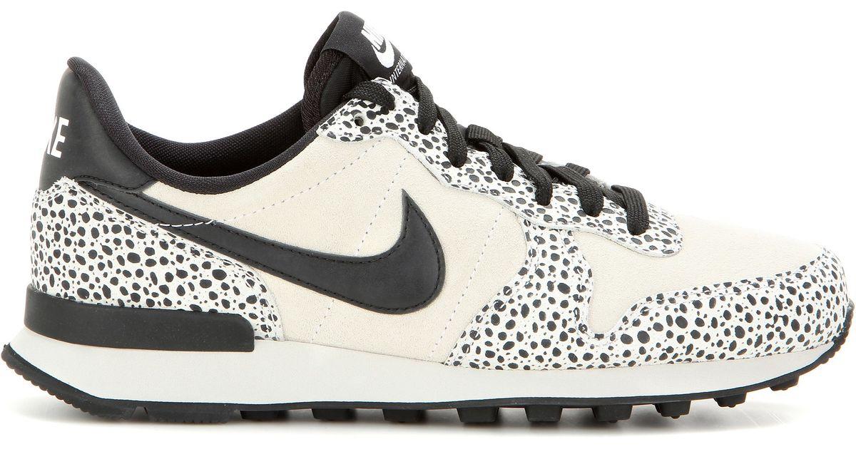 Lyst - Nike Internationalist Premium Sneakers in Black 22dee83f473