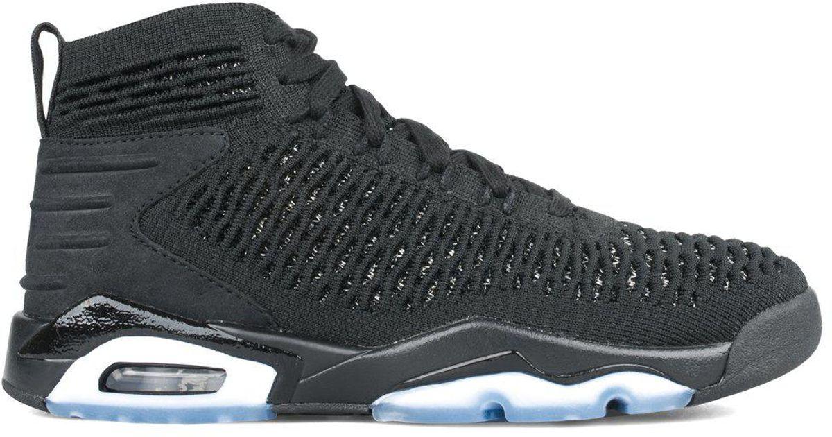 wholesale dealer f9ba0 2f236 Lyst - Nike Jordan Flyknit Elevation 23 in Black for Men