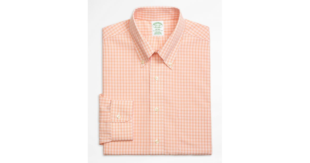 Brooks Brothers Non Iron Milano Fit Twin Gingham Dress