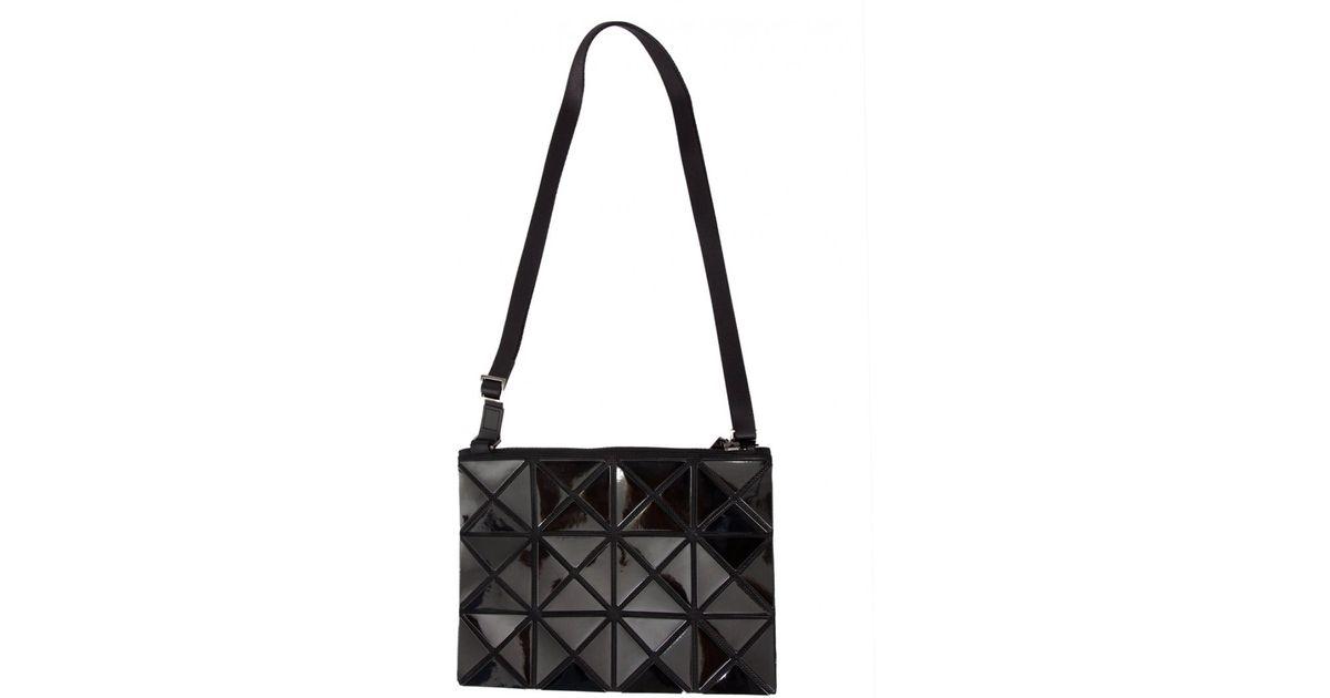 Bao Bao Issey Miyake Lucent Prism Shoulder Bag Black in Black - Lyst e30b361b4b24d