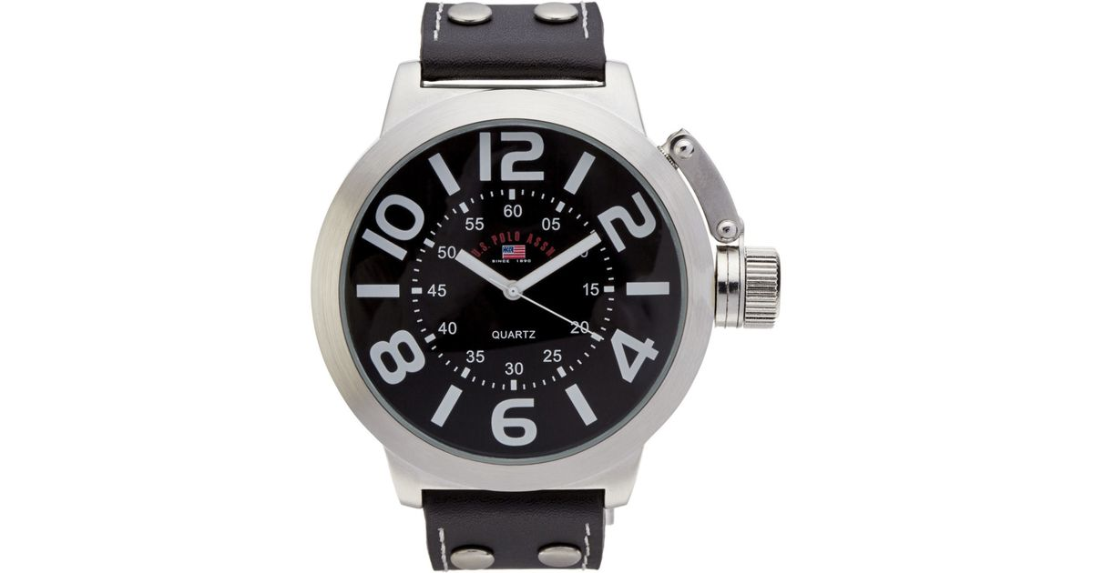 Us5207 Toneamp; AssnMetallic U Black sPolo For Watch Silver Men l13TKcuJ5F