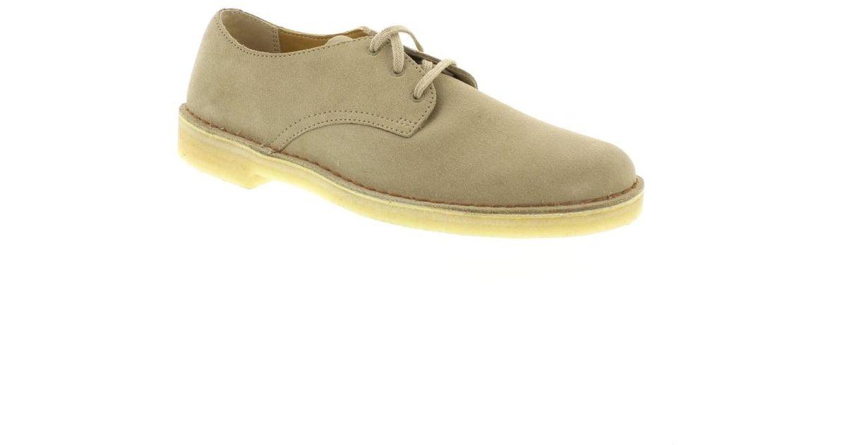 Clarks Clarks Suede Desert Crosby Shoes In