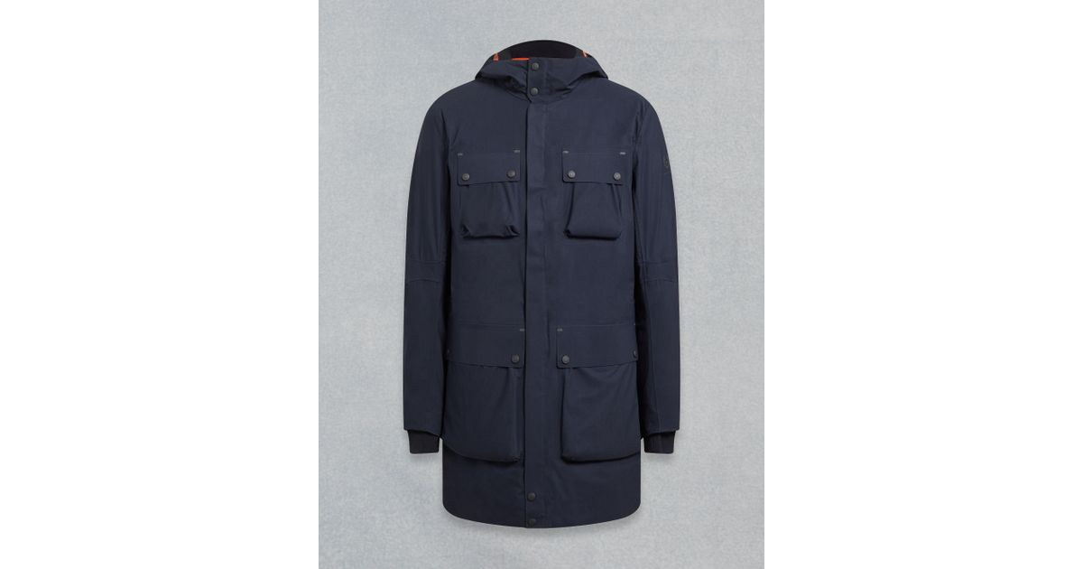 ab5e18a2b5 Belstaff Trialmaster Evo Parka Jacket in Blue for Men - Lyst