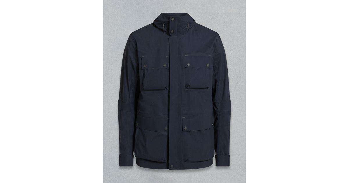 2dd9a4d4de Belstaff Origins Trialmaster Evo Jacket in Blue for Men - Save 24% - Lyst
