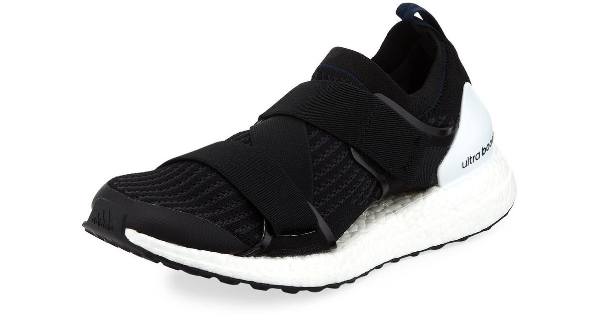 Lyst - Adidas By Stella Mccartney Ultra Boost X Double-strap Sneaker in Black for Men