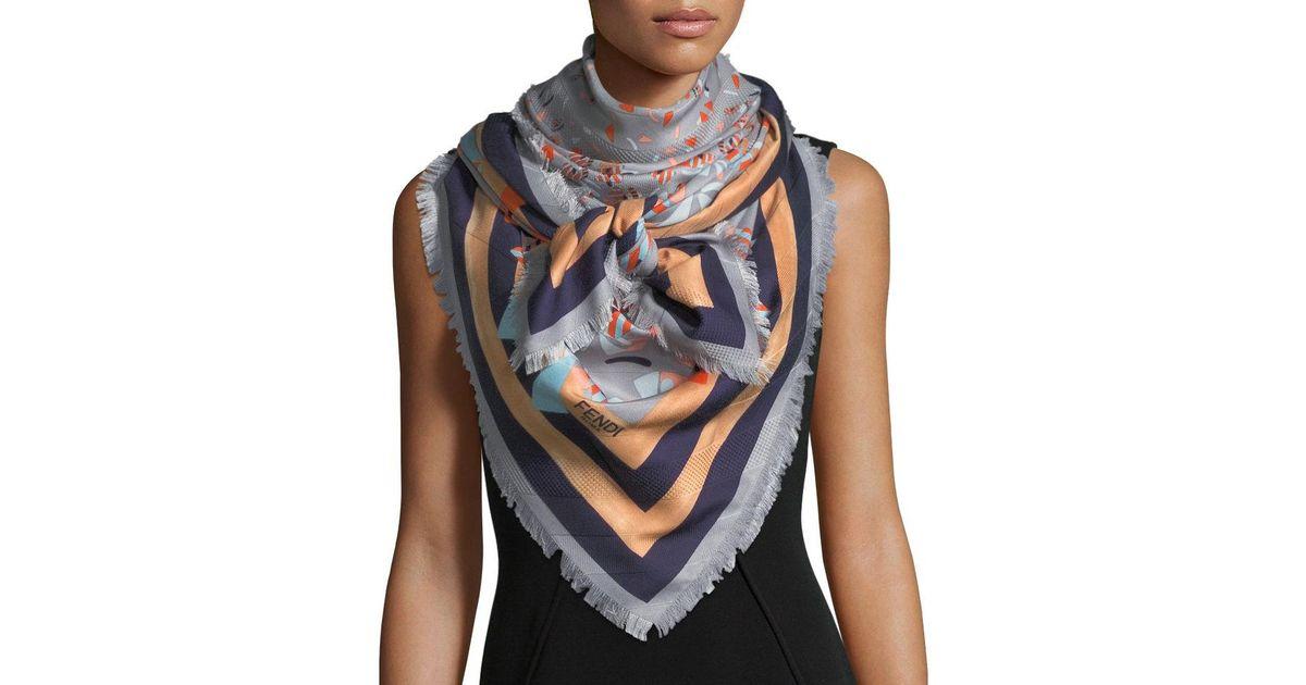 3c38b4521d free shipping fendi shawl scarf dda73 3d6d1