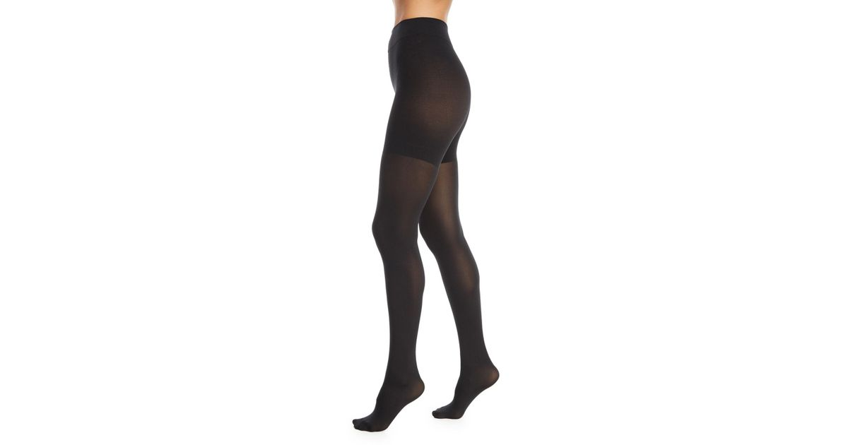 bbfabb272e8 Lyst - Wolford Tummy 66 Control-top Tights in Black