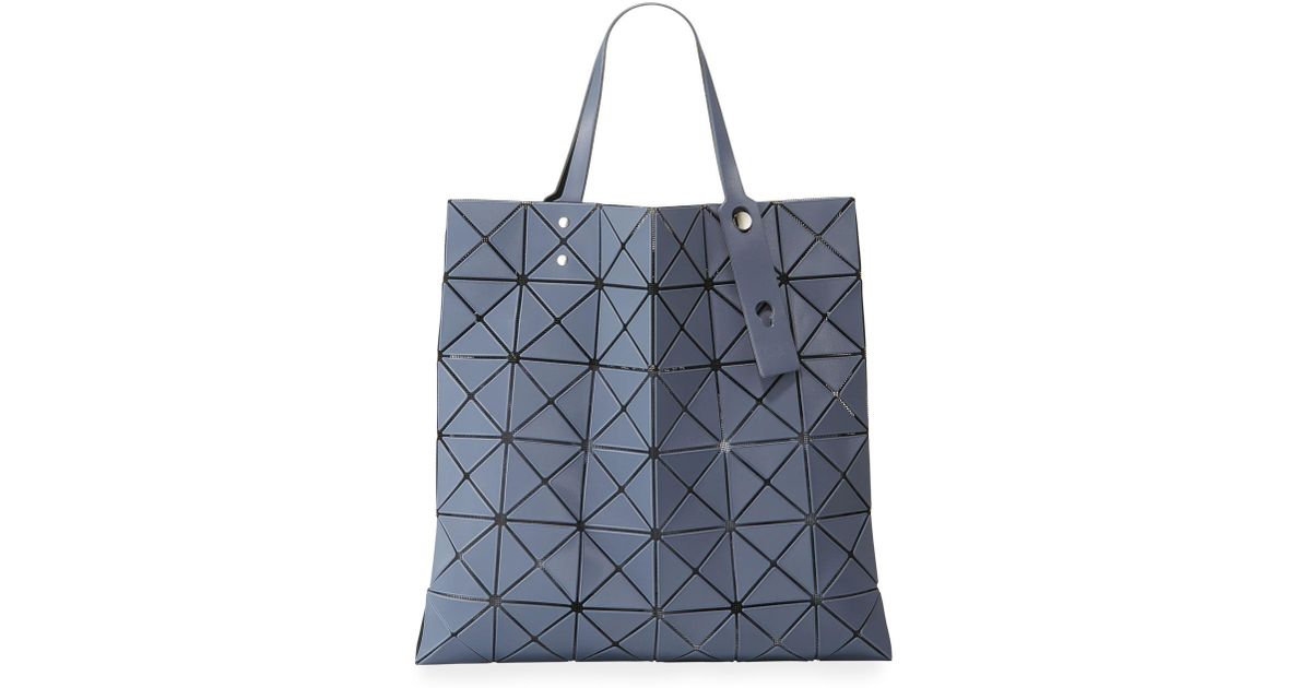 ec92ee566900 Lyst - Bao Bao Issey Miyake Lucent Frost Tote Bag in Gray - Save 17%