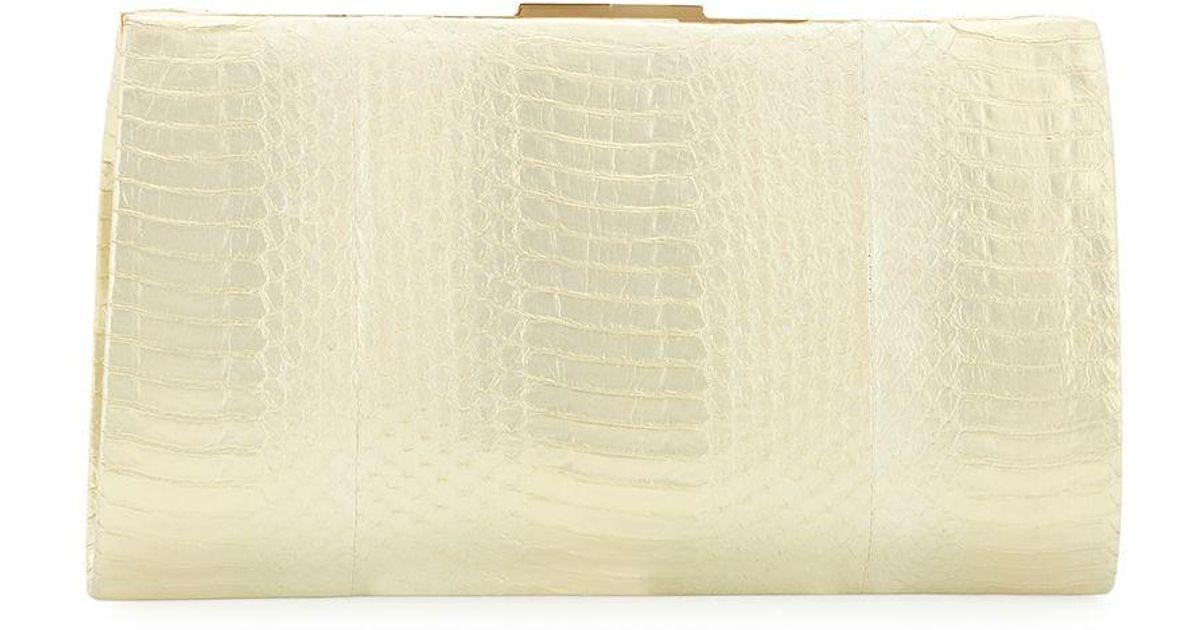 8e280c716452 Nancy Gonzalez Colette Exposed Frame Clutch Bag - Lyst