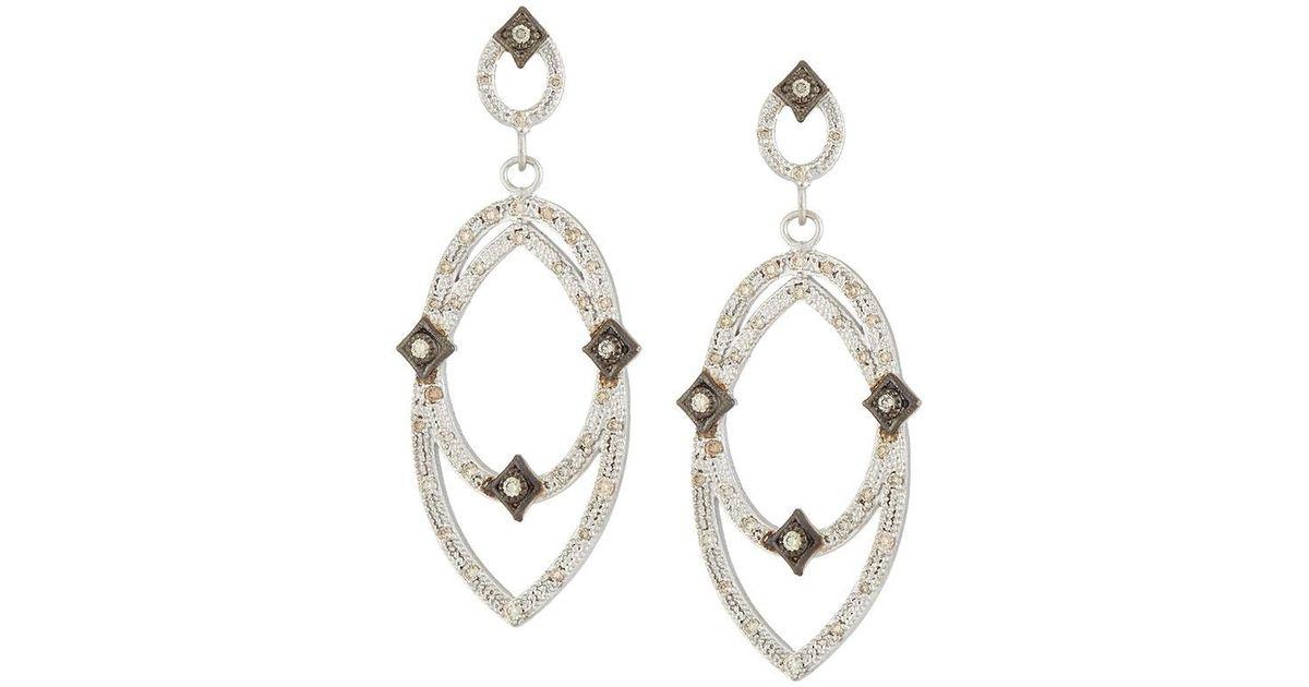 Armenta New World Crivelli Earrings w/ Diamonds yYZeHm