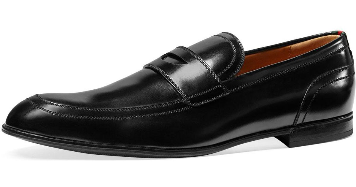 645c5848868 Gucci  ravello  Penny Loafer in Black for Men - Lyst
