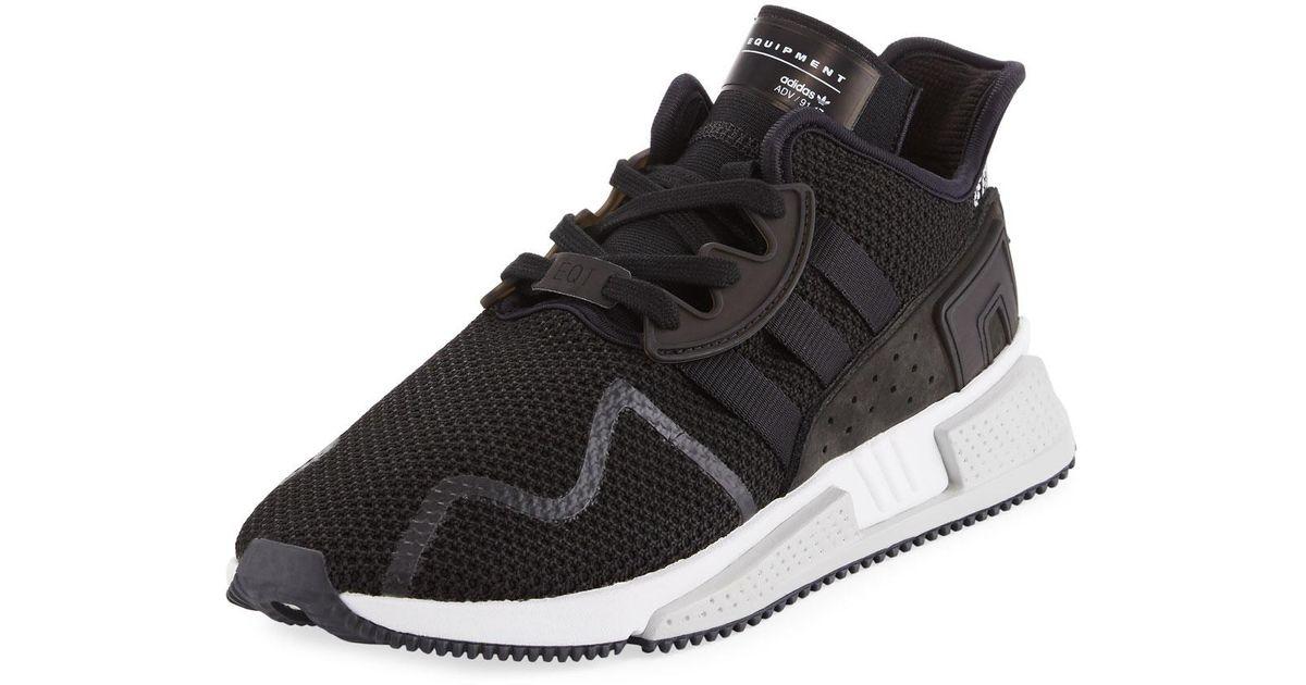brand new d8ce9 5ca8f Lyst - adidas Mens Eqt Cushion Adv 91-17 Sneakers in Black f