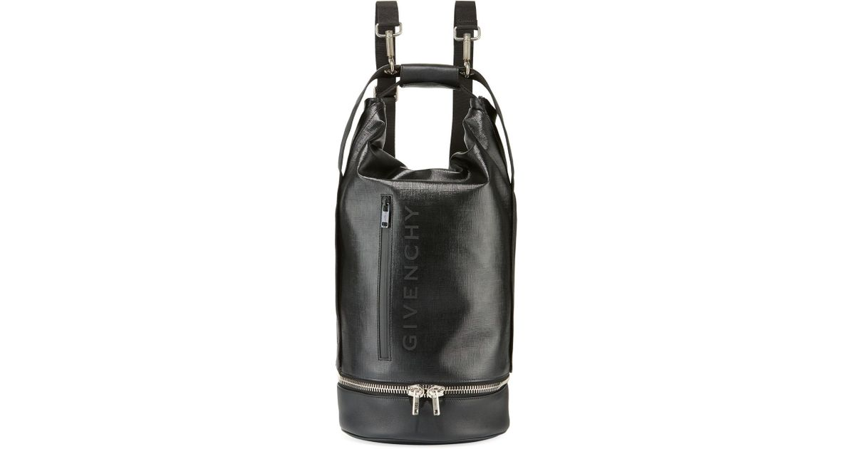 037ecee168 Lyst - Givenchy Men s Jaw Large Faux-leather Hybrid Bag in Black for Men