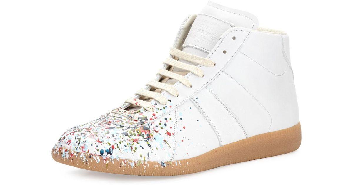 Splatter Replica sneakers - White Maison Martin Margiela i7JKLTa