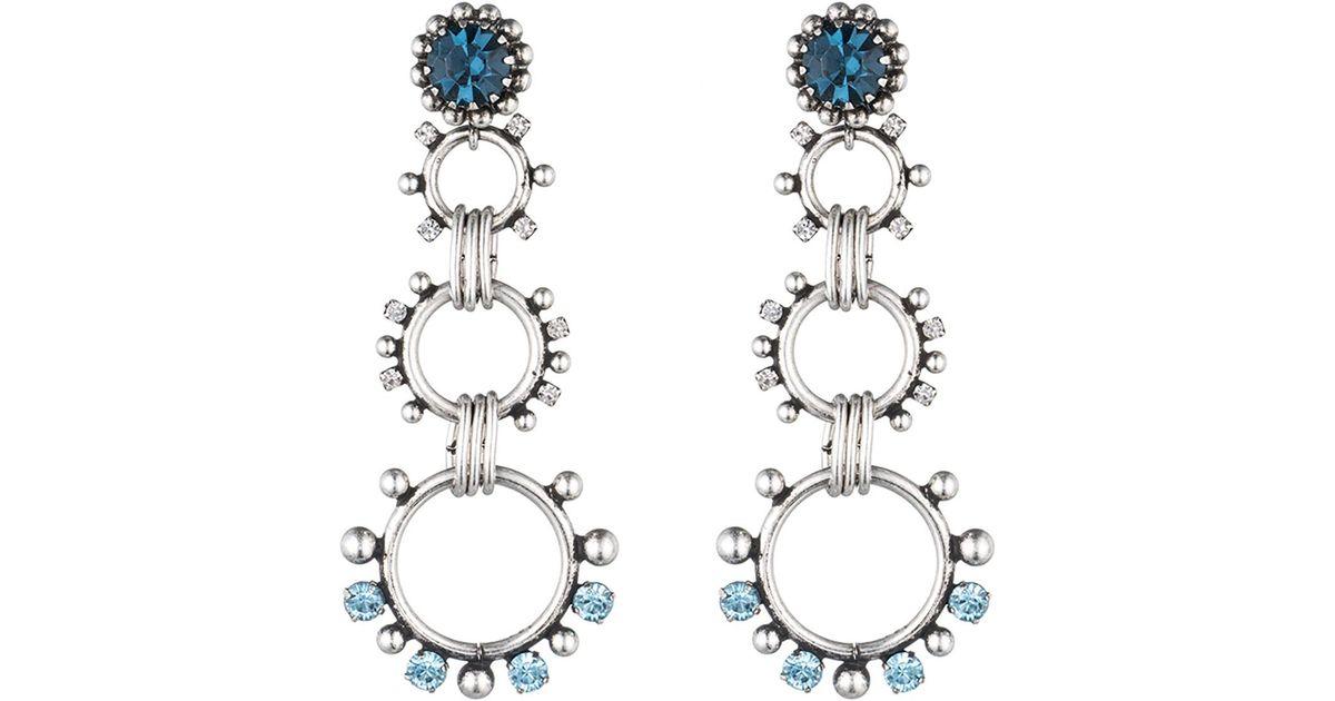 Dannijo Lauren Crystal Statement Earrings 2YftxAZIG5