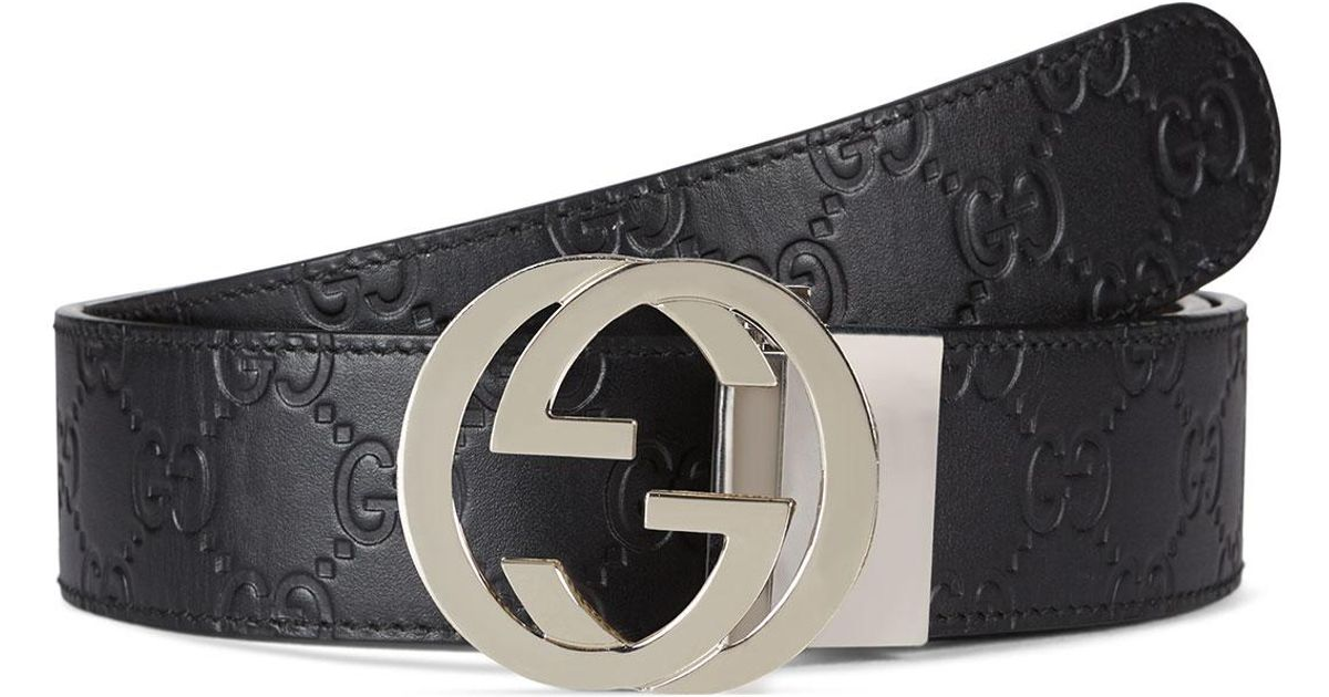 6bff0acc5 Gucci Men's Reversible GG Belt in Brown for Men - Lyst