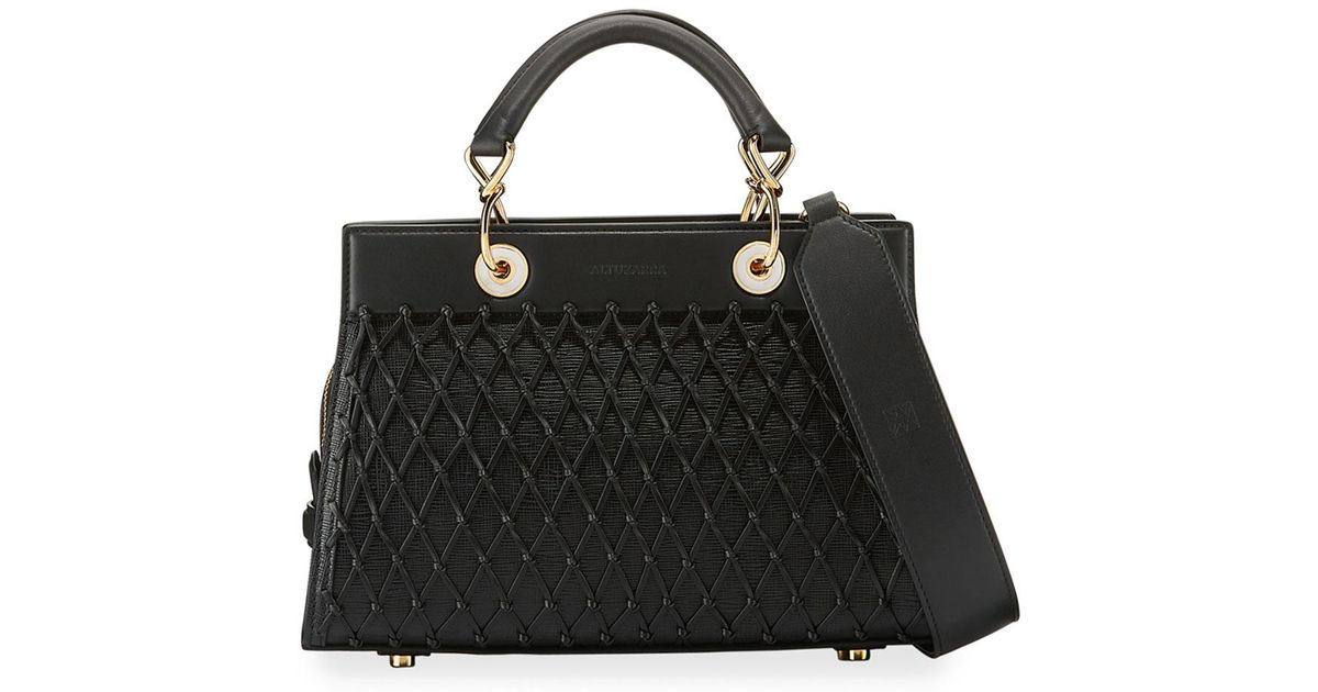 Shadow leather shoulder bag Altuzarra suQICWS3j