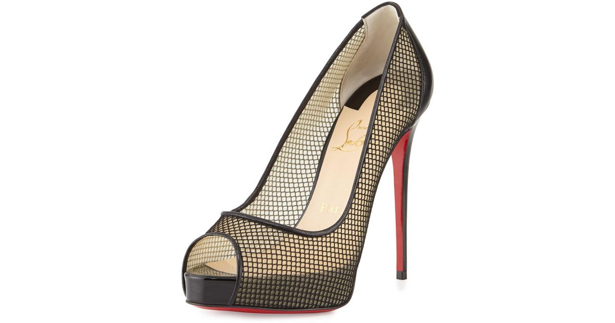 newest 6a49e 7e799 Christian Louboutin - Black Very Rete - Lyst