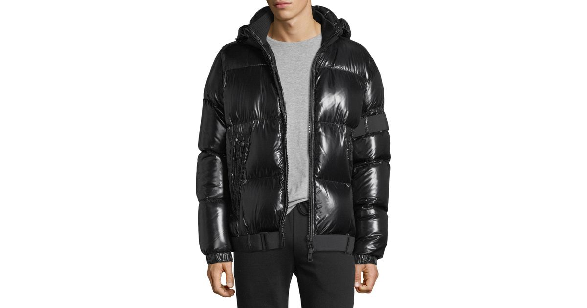 f0daa3dd0 Jacket Shiny For Men Lyst In Puffer Black Moncler Brook 7qPnIUp