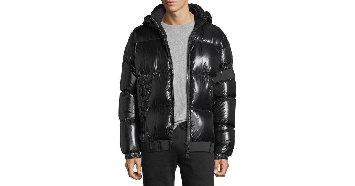 2eff4027f Jacket Shiny For Men Lyst In Puffer Black Moncler Brook 7qPnIUp