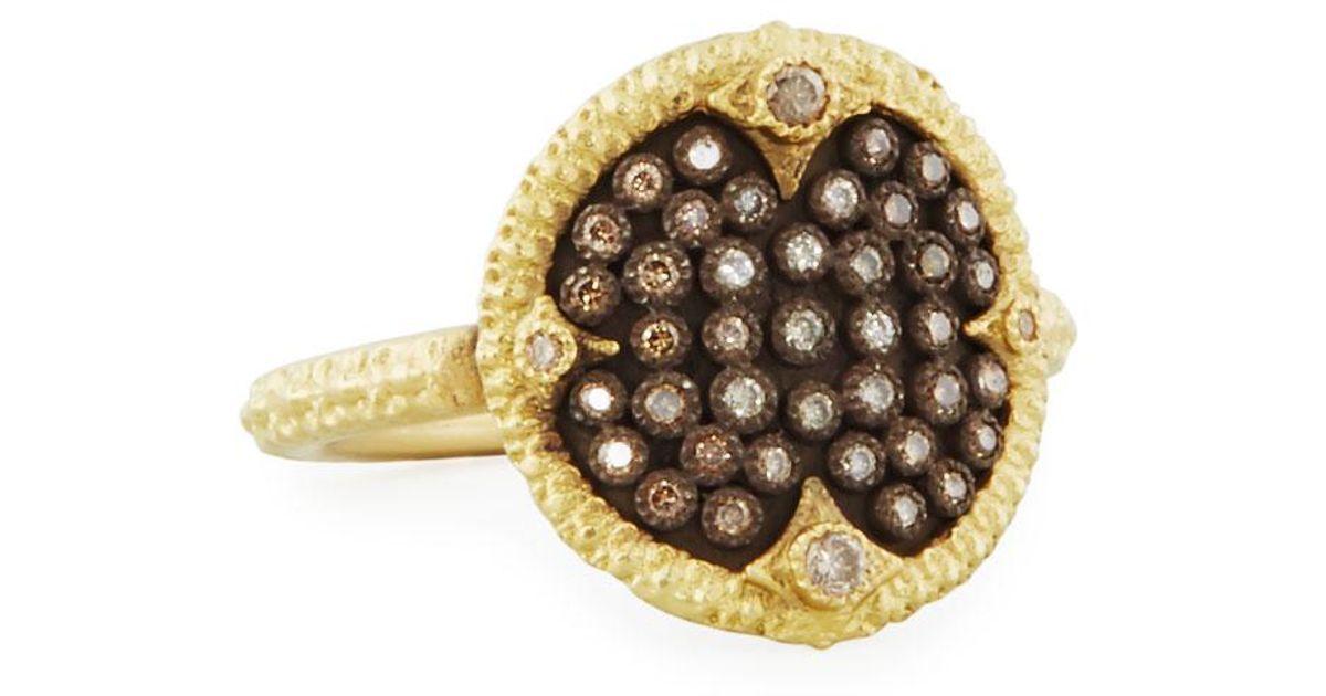 Armenta Old World Pavé Diamond Cushion Ring tFcC7v