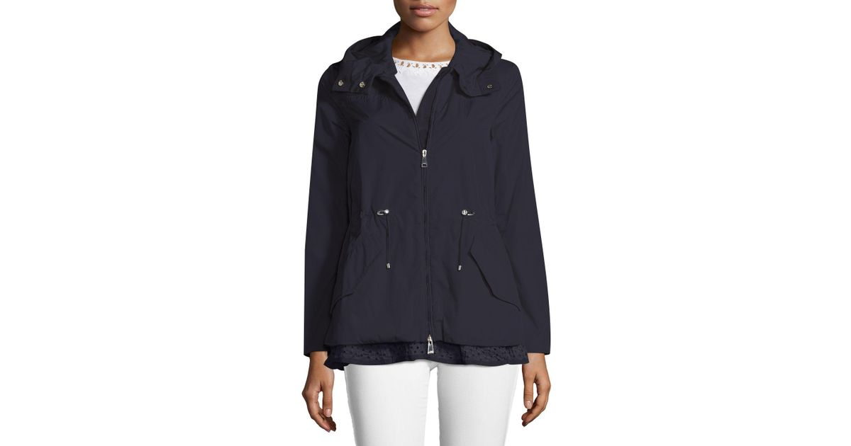 e9e28b41dc1a Lyst - Moncler Lotus Lightweight Jacket in Blue