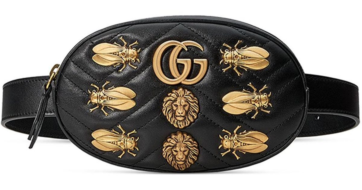 c4b4c5d0845276 Gucci Marmont Insect Belt Bag - Insect Foto and Image In 2019