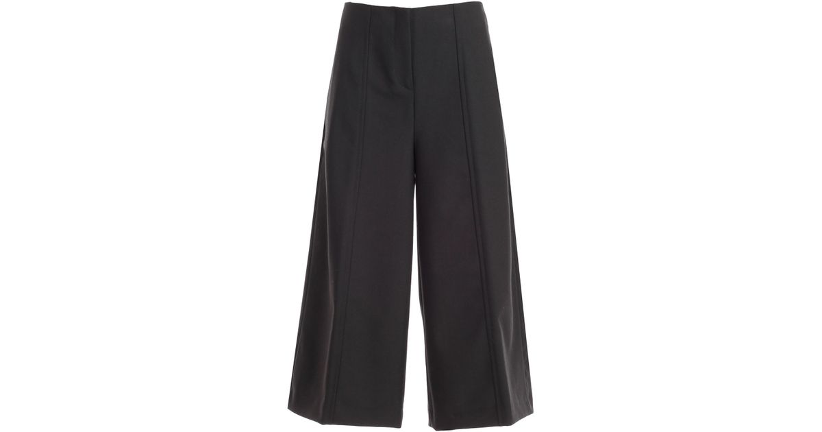 pretty nice 3f875 d4e13 Twin Set - Black Gonna Pantalone Vita Alta - Lyst