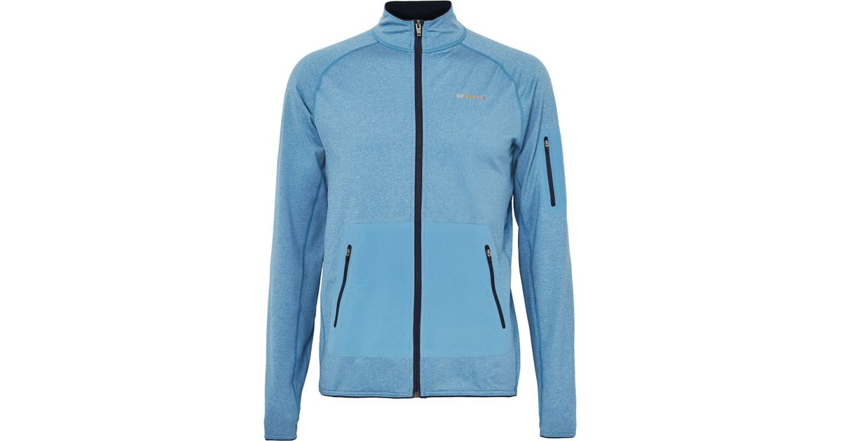 Patagonia Speedwork Thermal Stretch Jersey Jacket In Blue