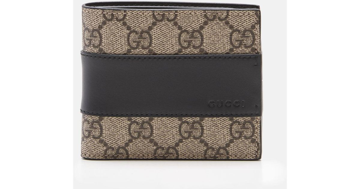 519a5549d51 Lyst - Gucci GG Supreme Wallet in Brown for Men
