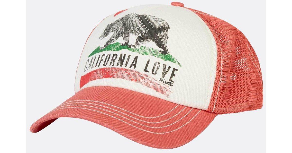 5763980d506fe6 Lyst - Billabong Pitstop Trucker Hat in Black