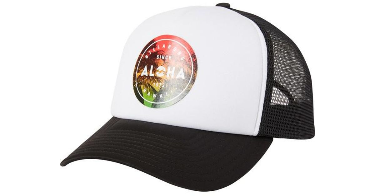 ef504c62a2484 ... low price lyst billabong aloha seal hawaii trucker hat for men 719ef  3d9ec