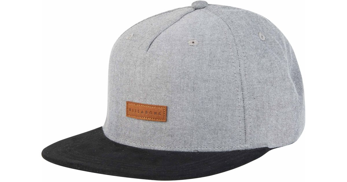 brand new cc01a fe06e Billabong Oxford Snapback Hat in Gray for Men - Lyst