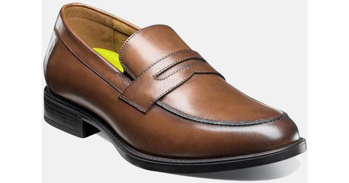 99ae1ca36ca Lyst - Florsheim Midtown Moc Toe Penny Loafer in Brown for Men