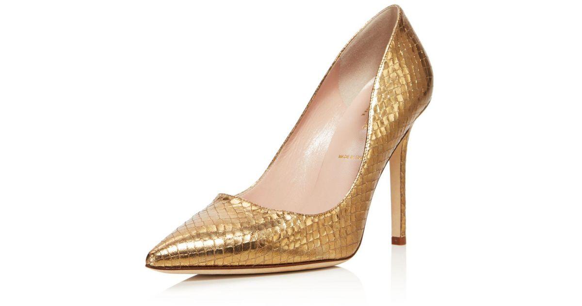 572140b83ffa Lyst - Kate Spade Women s Larisa High Heel Pumps