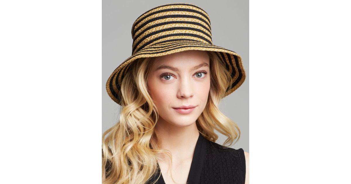 Eric Javits Braid Dame Multicolor Bucket Hat in Natural - Lyst de77dbf1aec